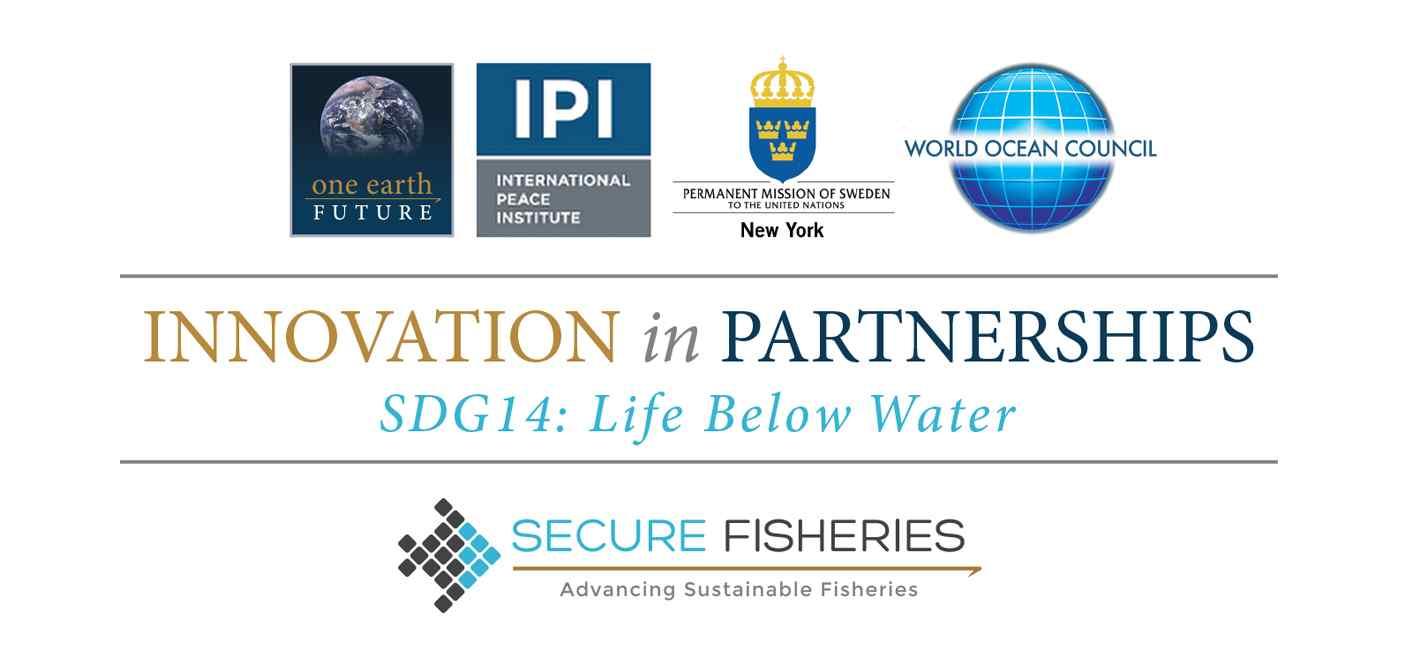 Innovation in Partnerships SDG14 Logo